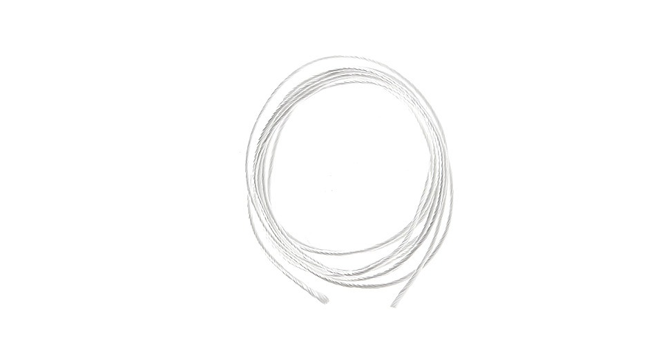 1.0mm Twisted Silica Wick (1M / 3.3ft)