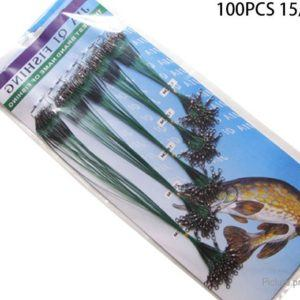 Fishing Lure Line Trace Wire Leader (100 Pieces)